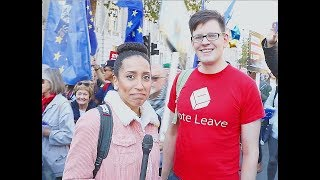 """This Brexiteer Walked Through The """"People's"""" Vote March..."""