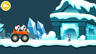 Baby Panda Car Racing Gameplay   BabyBus Kids Games #34