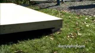 How to Build the Foundation for a Storage Shed