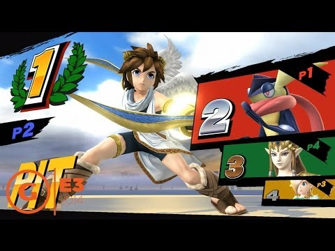 Super Smash Bros for Wii U Rosalina Gameplay - E3 2014