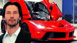 Keanu Reeves Car And Bike Collection ✸ $4,500,000 Million Car Collection