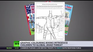 Drawing Attention: US kids learn of jihad threat through coloring books