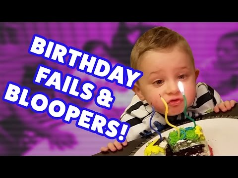 ☺ AFV (NEW!) Funniest Birthday Fails and Bloopers of 2016 (Funny Clips Fail Montage)
