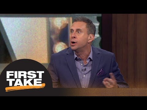 Marc Silverman absolutely doesn't agree with grades of the Kawhi Leonard trade | First Take | ESPN