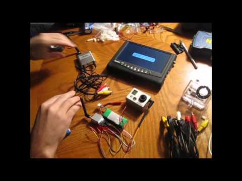 Hobby King 5.8GHZ FPV Setup Wiring Instructions Help Go Pro Hero 2