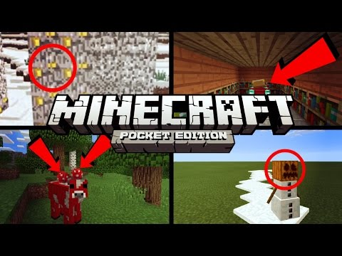 ✔️Minecraft PE 0.14.3 - 6 THINGS YOU MIGHT HAVE NOT KNOWN [MCPE]   Tips. tricks. facts. and glitches