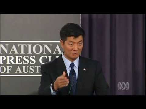 Tibet PM Lobsang Sangay's Speech in Canberra, Australia.mp4