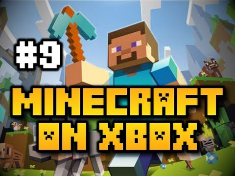 Minecraft on Xbox - Ep. 9 - Flint, Steel, & Nether Portal [Tutorial] (Xbox 360)