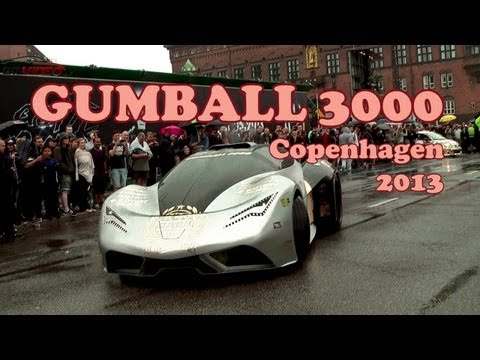 GUMBALL 3000 - 2013 - Start Copenhagen - Cool cars.