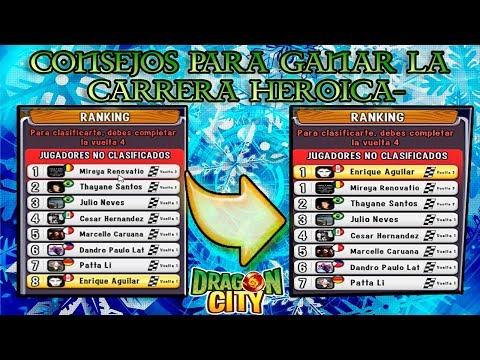Consejos para ganar toda las Carreras Heroicas Dragon City