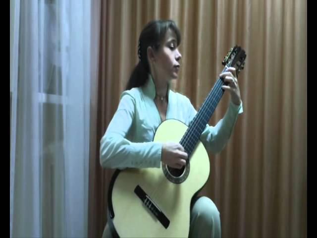 А. Виницкий Босса нова, исполняет Ольга Бельская