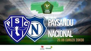 COPA VERDE | Paysandu x Nacional - 20.08.2019