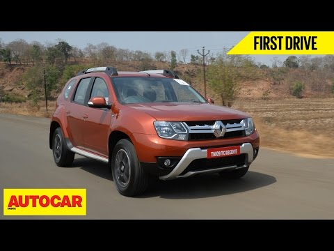 Renault Duster Easy-R AMT | First Drive | Autocar India