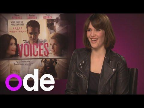Gemma Arterton talks Ryan Reynolds and the voices in her head