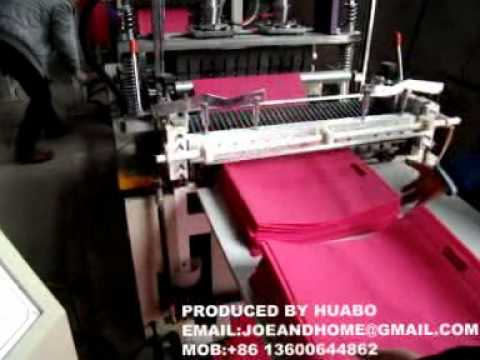 Full Automatic Non Woven Bag Making Machine In India And