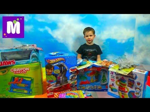 Посылка с игрушками Хот Виллс и Томас и его друзья
