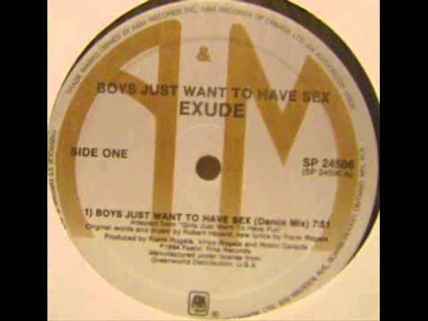 Exude - Boys Just Want To Have Sex [1984 Dance Mix] video