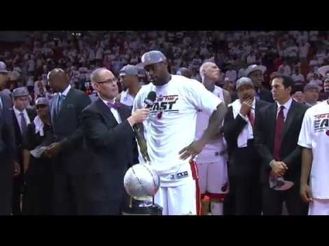 The Miami Heat Win the Eastern Conference Championship.