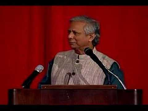 Dr. Muhammad Yunus - The Complete Lecture 1/6