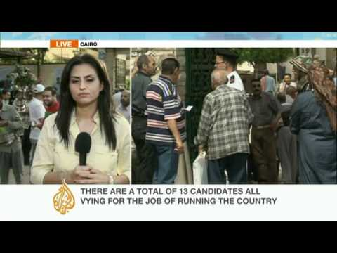 Update: Egypt presedential election
