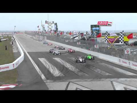 2013 Honda Grand Prix of St. Petersburg Highlights