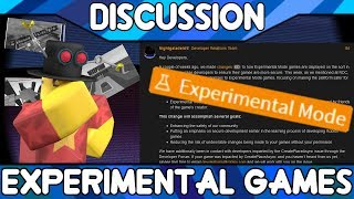 The Experimental Game Purge [ROBLOX Discussion]
