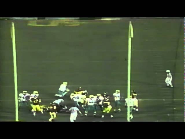 Roughing the kicker penalty extends Oregon's drive vs. USC 10-25-1997