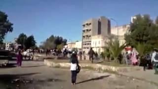 الملك محمد السادس يتجول بشوارع خريبكة بدون حرس ولا امن