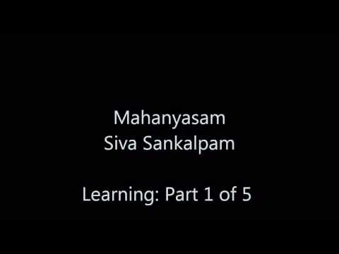 Mahanyasam - Siva Sankalpam - 1 Of 5 (r5 Dsb) video
