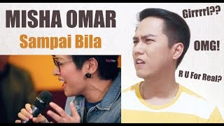 MISHA OMAR - Sampai Bila (LIVE) #JanganBenciCintaku #PHDKoolFM | REACTION