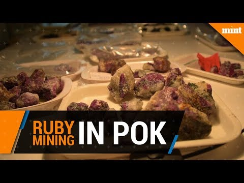 Rubies - the buried treasures of Pakistan occupied Kashmir