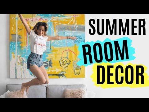 3 ideas DIY para decorar en verano | SUMMER ROOM DECOR
