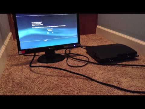 How To Connect PS3 to LCD Monitor