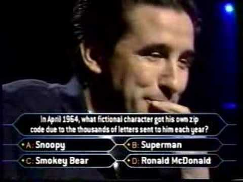 2/2 William Baldwin on Celebrity Millionaire Video