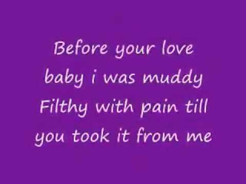 Monica - Love All Over Me - Lyrics On The Screen