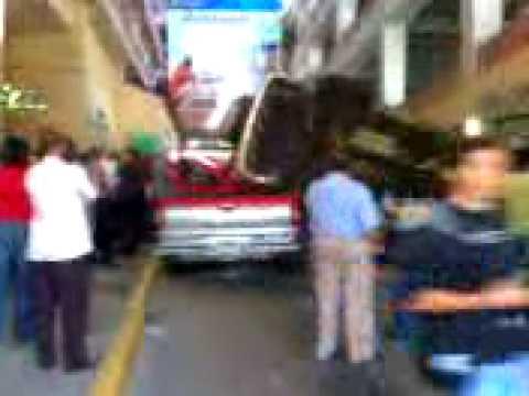 Accidente en Bella Vista Mall!!