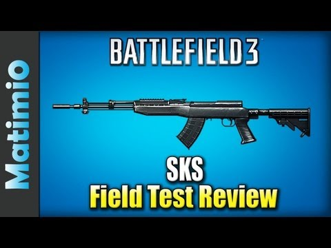 SKS Field Test Review - Best Sniper Rifle? (Battlefield 3 Gameplay/Commentary)