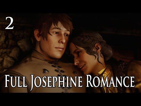 Dragon Age: Inquisition - Josephine Full Romance Scenes Part 2
