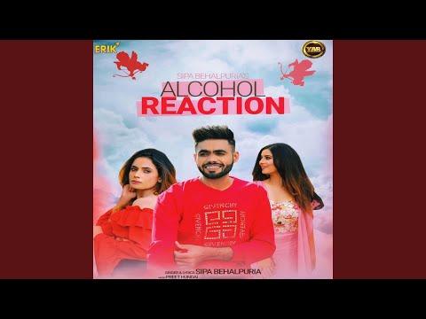 Alcohol Reaction