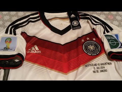 Authentic Germany World Cup 2014 FINAL jersey Adizero Player Issue