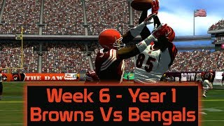 ESPN NFL 2K5 - Cleveland Browns At Cincinnati Bengals- Week 6