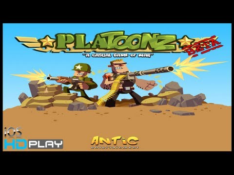 Platoonz - iPhone/iPad HD Gameplay