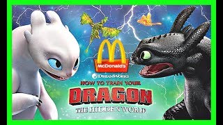 2019 Prediction McDonalds How To Train Your Dragon 3  Happy Meal Toys After Lego Movie 2