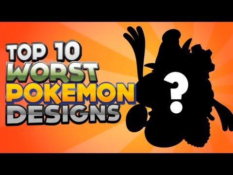Top 10 Worst Pokémon Designs