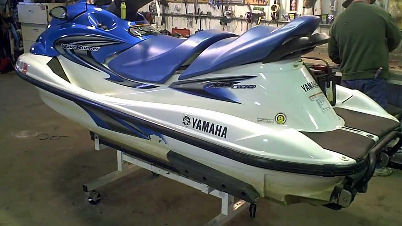 Lot 1373a 2004 yamaha waverunner xlt 800 jet ski youtube for Yamaha jet ski waverunner