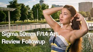Sigma 50mm F/1.4 Art Review Followup