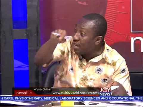 Corruption in Ghana - Newsfile on Joy News (30-5-15)