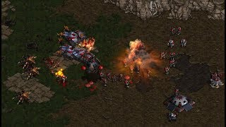 BoxeR (T) v Zerg (Z) on Python - StarCraft  - Brood War REMASTERED