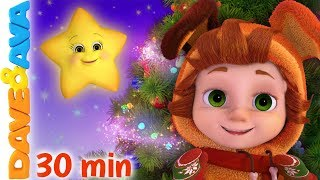 🌟 Twinkle, Twinkle, Little Star | Baby Songs | Christmas Songs by Dave and Ava 🌟