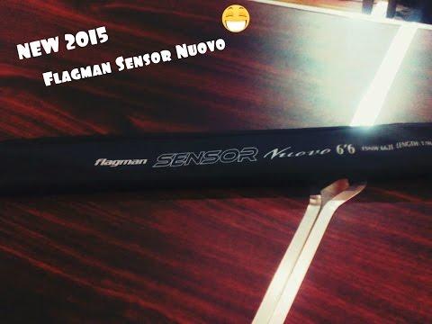 Обзор спиннинг Flagman Sensor Nuovo NEW 2015